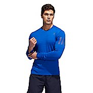 Mens Adidas Runner Tee Long Sleeve Technical Tops