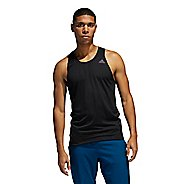 Mens Adidas Runner Singlet Sleeveless & Tank Technical Tops