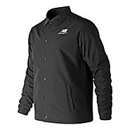 Mens New Balance Classic Coaches Stacked Casual Jackets