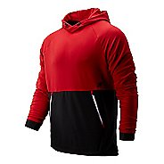 Mens New Balance R.W.T. Long Sleeve Pullover Half-Zips & Hoodies Technical Tops