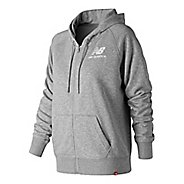 Womens New Balance Essentials Full Zip Hoodie Casual Jackets