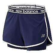 Womens New Balance Relentless 2-in-1 Shorts