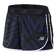 Womens New Balance Printed Accelerate 2.5-inch Lined Shorts