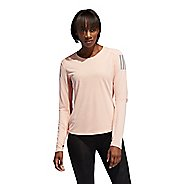Womens Adidas Own The Run Long Sleeve Technical Tops