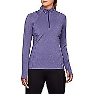 Womens ASICS Thermo Half-Zips Hoodies Technical Tops