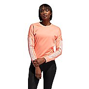 Womens Adidas Response Crew Long Sleeve Technical Tops