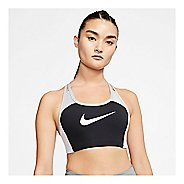 Womens Nike Swoosh Logo Padded Sports Bra