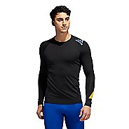 Mens Adidas Moto Alphaskin Tee Long Sleeve Technical Tops