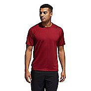 Mens Adidas Freelift Tech Fitted Tee Short Sleeve Technical Tops