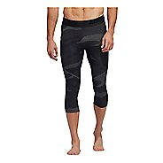 Mens Adidas Alphaskin Camo 3/4 Capris Tights