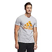 Mens Adidas Graphic Amp Tee Short Sleeve Technical Tops