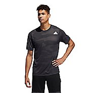 Mens Adidas Camo Burnout Tee Short Sleeve Technical Tops