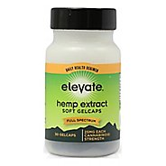 Elevate Hemp CBD Daily Use Softgel Caps 600mg Supplement