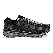 Mens Brooks Ghost 12 Flannel Running Shoe