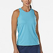 Womens Korsa Cadence Run Sleeveless & Tank Technical Tops