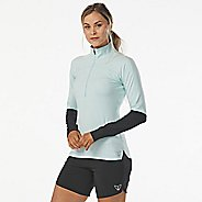 Womens Korsa Static Run Half-Zips & Hoodies Technical Tops