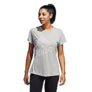 Womens Adidas Badge of Sport Logo Tee Short Sleeve Technical Tops