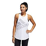 Womens Adidas Badge of Sport Sleeveless & Tank Technical Tops