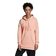 Womens Adidas Must Haves Badge of Sport Half-Zips & Hoodies Technical Tops
