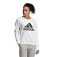 Womens Adidas Must Haves Badge of Sport Crew Short Sleeve Technical Tops