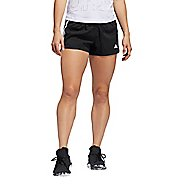 Womens Adidas Pacer 3 Stripe Woven Unlined Shorts