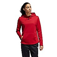 Womens Adidas Team Issue Pullover Half-Zips & Hoodies Technical Tops