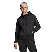 Womens Adidas ID Melange Half-Zips & Hoodies Technical Tops