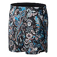 "Mens New Balance Printed Velocity 7"" 2-in-1 Shorts"