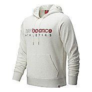 Mens New Balance Essentials Icon Half-Zips & Hoodies Technical Tops