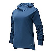 Womens New Balance Q Speed Run Crew Sweatshirt Long Sleeve Technical Tops
