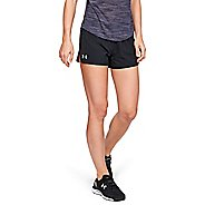 "Womens Under Armour Launch SW 3"" Lined Shorts"