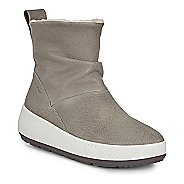 Womens Ecco Ukiuk 2.0 Pull On Lambskin Lined Hydromax Boot Casual Shoe
