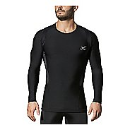 Mens CW-X Long Sleeve Insulator Web Compression Top Long Sleeve Technical Tops