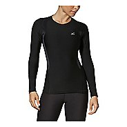 Womens CW-X Long Sleeve Insulator Web Compression Top Long Sleeve Technical Tops