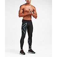 Mens 2XU MCS Run Compression w Back Storage Compression Tights