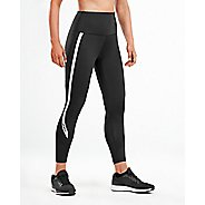 Womens 2XU Hi-Rise Compression 7/8 Crop Tights