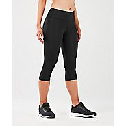 Womens 2XU MCS X Train Mid Rise 3/4 Compression Tights