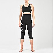 Womens 2XU Postnatal Active 3/4 Compression Tights