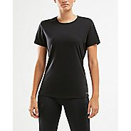 Womens 2XU XCTRL Crew Tee Short Sleeve Technical Tops
