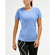 Womens 2XU XVENT Tee Short Sleeve Technical Tops