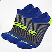 Zensah Featherweight Running No-Show 3 Pack Socks