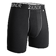 "Mens 2UNDR Swing Shift 6"" Boxer Brief Underwear Bottoms"