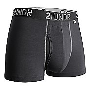 "Mens 2UNDR Swing Shift 3"" Trunks Boxer Brief Underwear Bottoms"