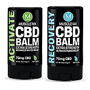 Muscle MX CBD Heating and Cooling Balm Mini Bundle Skin Care