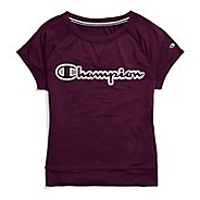 Womens Champion Phys Ed Tee Short Sleeve Technical Tops