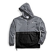 Mens Champion Colorblocked Packable Running Jackets