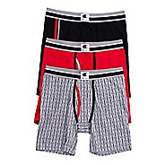 Mens Champion Everyday Comfort 3 Pack Boxer Brief Underwear Bottoms