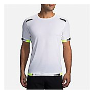 Mens Brooks Carbonite Short Sleeve Technical Tops