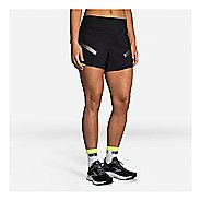 "Womens Brooks Carbonite 4"" 2-in-1 Lined Shorts"