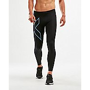 Mens 2XU Run Dash Compression Leggings Tights